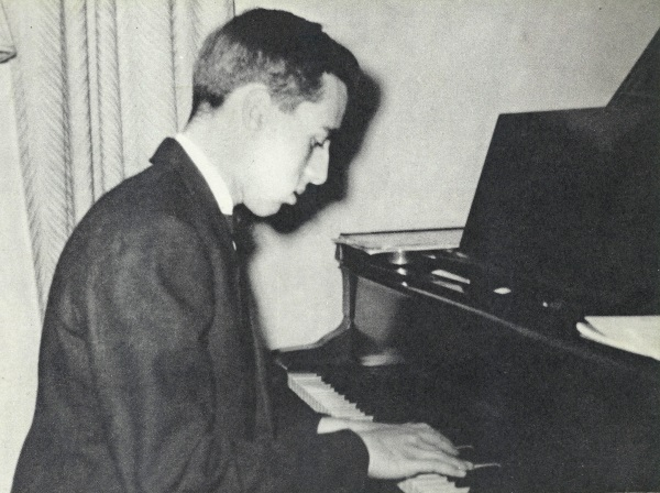 Denis as a teen-ager